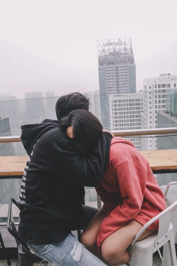 Shy girlfriend