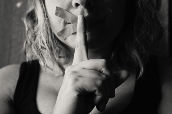 Keeping secrets in a relationship