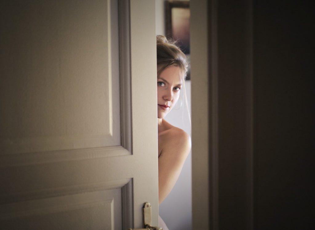 A lady keeping secret