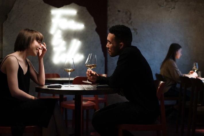 Dinner date to appreciate boyfriend