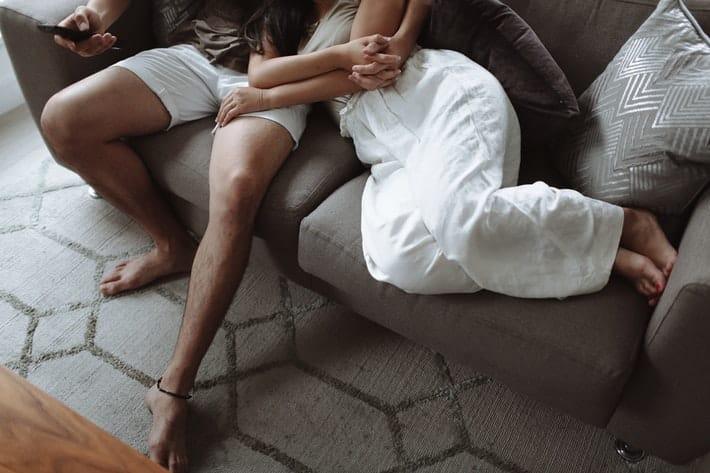 Movies night with boyfriend