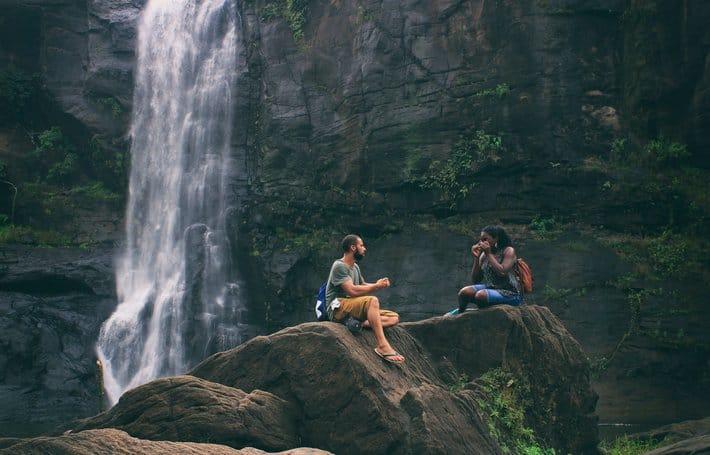 Outdoor adventure with boyfriend