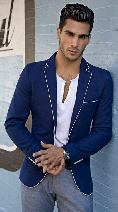 Male evergreen fashion style
